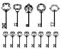 Συλλογή των κλειδιών Απεικόνιση αποθεμάτων
