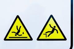 Συλλογή των προειδοποιητικών σημαδιών στοκ φωτογραφία με δικαίωμα ελεύθερης χρήσης