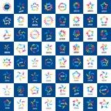 Συλλογή των συμμαχιών σημαδιών Στοκ Εικόνες