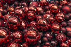 Συλλογή των σφαιρών Χριστουγέννων Στοκ φωτογραφία με δικαίωμα ελεύθερης χρήσης