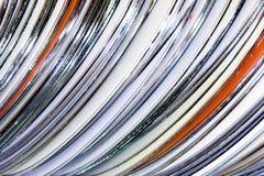 Συλλογή των CD Στοκ φωτογραφία με δικαίωμα ελεύθερης χρήσης