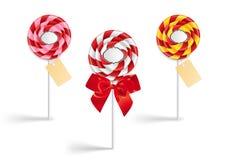 Συλλογή Lollipop Στοκ Φωτογραφίες