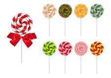 Συλλογή Lollipop Στοκ Εικόνες