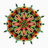 Συλλογή Mandalas Στρογγυλό σχέδιο διακοσμήσεων Στοκ Εικόνες