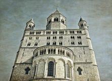 Συλλογική εκκλησία Αγίου Γερτρούδη σε Nivelles Στοκ Εικόνες