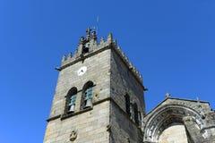 Συλλογική εκκλησία, Γκιμαράες, Πορτογαλία στοκ φωτογραφία με δικαίωμα ελεύθερης χρήσης