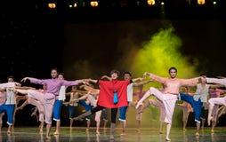 Συλλογικός χορός Στοκ εικόνα με δικαίωμα ελεύθερης χρήσης