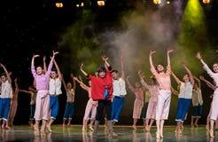 Συλλογικός χορός Στοκ Εικόνες