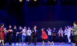 Συλλογικός χορός Στοκ φωτογραφία με δικαίωμα ελεύθερης χρήσης