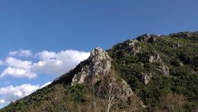 Σφάλμα βουνών και χρόνου σύννεφων απόθεμα βίντεο