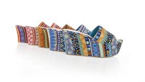 σφήνες παπουτσιών προτύπων συλλογής Στοκ Φωτογραφίες