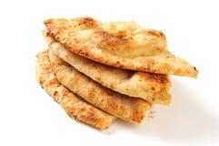 Σφήνες ψωμιού Naan Στοκ Φωτογραφία