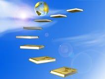 σφαίρα βιβλίων Στοκ εικόνα με δικαίωμα ελεύθερης χρήσης