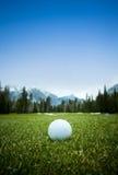 Σφαίρα γκολφ Στοκ Φωτογραφίες