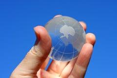 σφαίρα γυαλιού της Ανταρ&k Στοκ Εικόνες