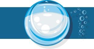 σφαίρα γυαλιού Εικονίδιο για το σχέδιο Στοκ Φωτογραφίες