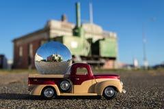 Σφαίρα γυαλιού τραίνων ατμού Foxton Στοκ φωτογραφία με δικαίωμα ελεύθερης χρήσης