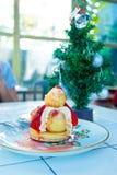Σφαίρα κέικ φραουλών Στοκ φωτογραφία με δικαίωμα ελεύθερης χρήσης