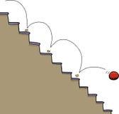 Σφαίρα και σκάλα απεικόνιση αποθεμάτων
