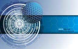 Σφαίρα με hexagons 2 Στοκ εικόνα με δικαίωμα ελεύθερης χρήσης
