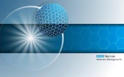 Σφαίρα με hexagons 4 Στοκ Φωτογραφίες
