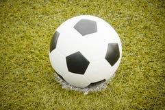 Σφαίρα ο ποδοσφαίρου Στοκ Εικόνα