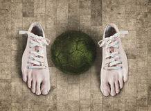 Σφαίρα παπουτσιών Στοκ Εικόνα