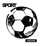 Σφαίρα ποδοσφαίρου Στοκ Φωτογραφία