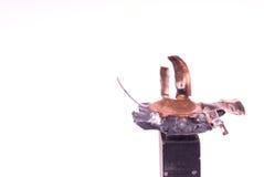 σφαίρα που συμπιέζεται Στοκ εικόνα με δικαίωμα ελεύθερης χρήσης