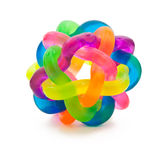 σφαίρα που χρωματίζεται Στοκ εικόνα με δικαίωμα ελεύθερης χρήσης