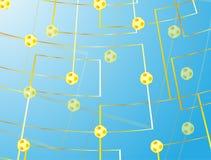 Σφαίρα ποδοσφαίρου Στοκ φωτογραφίες με δικαίωμα ελεύθερης χρήσης