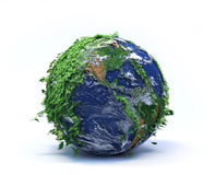 σφαίρα πράσινη διανυσματική απεικόνιση