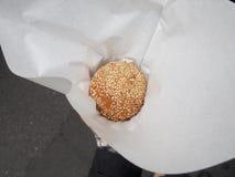 Σφαίρα σουσαμιού Στοκ Φωτογραφία