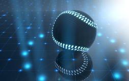 Σφαίρα στη σκηνή Spotlit ελεύθερη απεικόνιση δικαιώματος