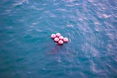 Σφαίρα στο νερό Στοκ Εικόνες