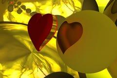 Σφαίρα της αγάπης Στοκ εικόνες με δικαίωμα ελεύθερης χρήσης
