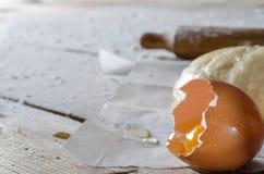 Σφαίρα της ζύμης πιτσών Στοκ εικόνες με δικαίωμα ελεύθερης χρήσης