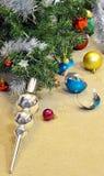 Σφαίρα Χριστουγέννων δέντρων Στοκ φωτογραφίες με δικαίωμα ελεύθερης χρήσης