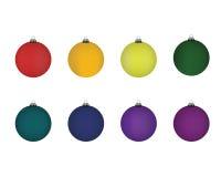 Σφαίρα Χριστουγέννων Διανυσματικό illustation χρώματος Στοκ φωτογραφία με δικαίωμα ελεύθερης χρήσης