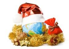 σφαίρα Χριστουγέννων ΚΑΠ Στοκ φωτογραφίες με δικαίωμα ελεύθερης χρήσης