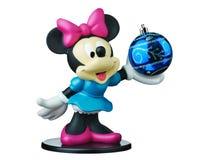 Σφαίρα Χριστουγέννων της Disney ποντικιών της Minnie που απομονώνεται διανυσματική απεικόνιση
