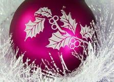 Σφαίρα Χριστουγέννων στοκ φωτογραφίες