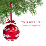 Σφαίρα Χριστουγέννων. στοκ φωτογραφία