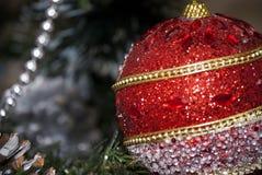 Σφαίρα Χριστουγέννων Στοκ Εικόνα