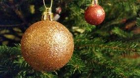 Σφαίρα χριστουγεννιάτικων δέντρων Στοκ Εικόνες