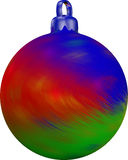 Σφαίρα χριστουγεννιάτικων δέντρων Στοκ εικόνα με δικαίωμα ελεύθερης χρήσης