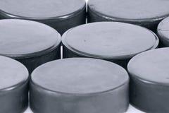 σφαίρα χόκεϋ ανασκόπησης Στοκ φωτογραφία με δικαίωμα ελεύθερης χρήσης