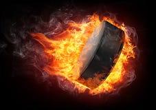 σφαίρα χόκεϋ Στοκ φωτογραφίες με δικαίωμα ελεύθερης χρήσης