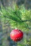 σφαίρα christmass Στοκ Εικόνες