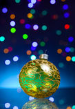 Σφαίρα Christmass στοκ φωτογραφίες